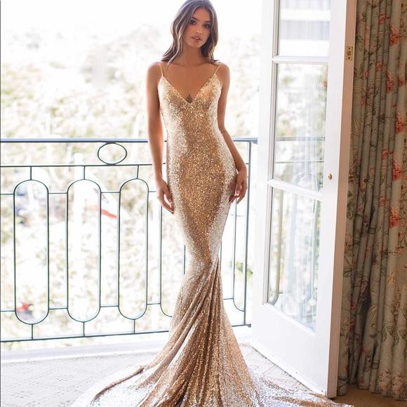111060fcc2df alamour the label Dresses   Yassmine Luxe Prom Dress   Poshmark